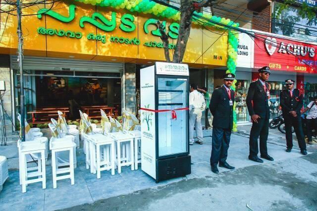 Restaurant has Outdoor Fridge to store Leftovers for Homeless