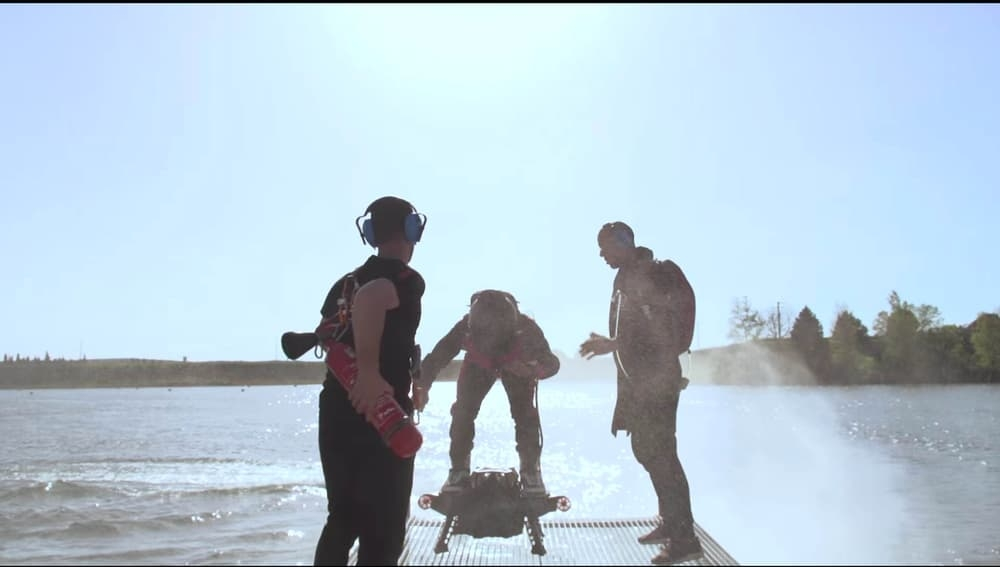 The Flyboard just got even more redonkulous!