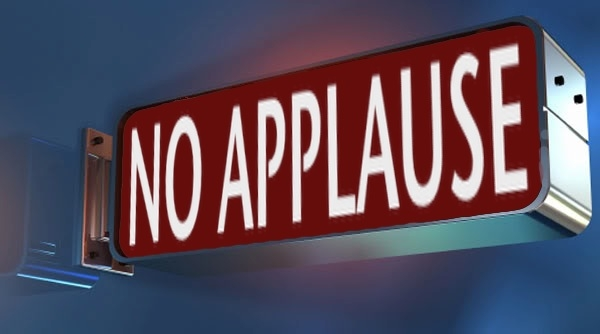 A Plea to Ban Applause At B.C Legislature Ended With... Applause