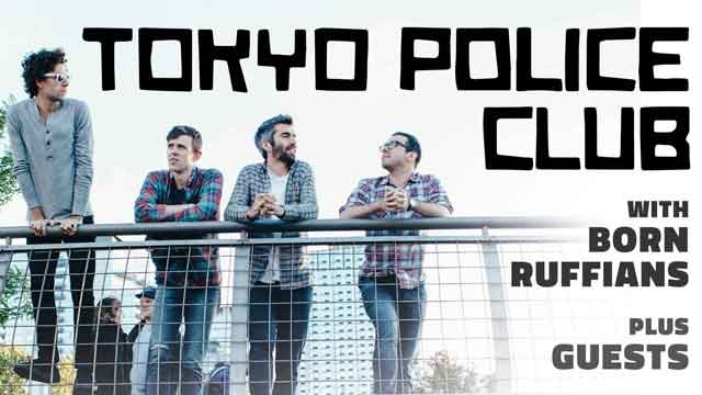 Win Tickets to Tokyo Police Club