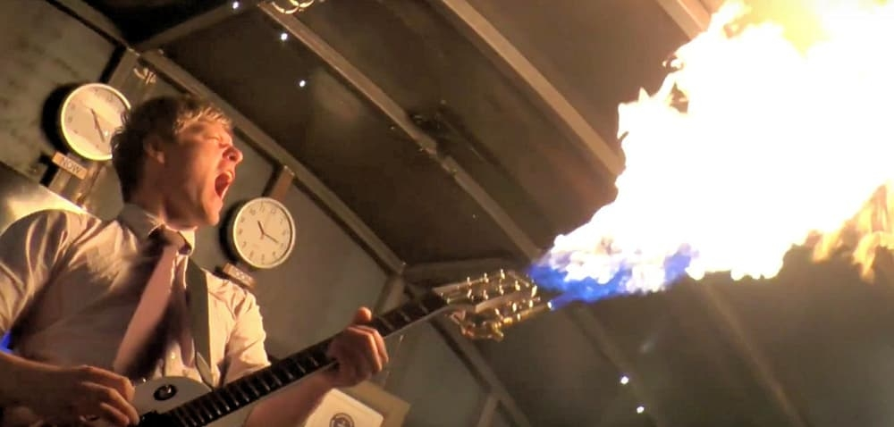 Want a flamethrower on your guitar?