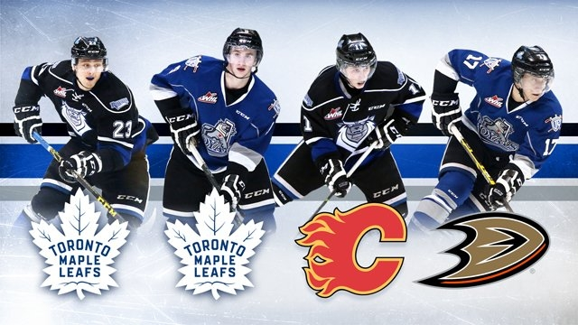 4 Royals Selected in 2016 NHL Entry Draft