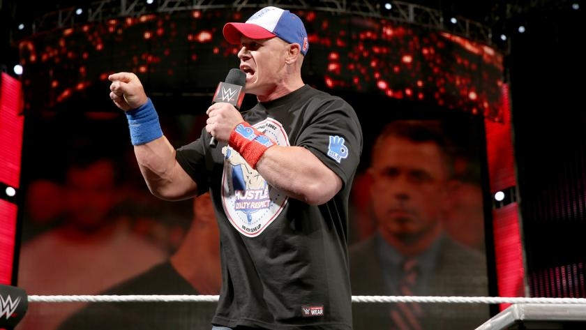 WWE Superstar John Cena on Independence Day {video}