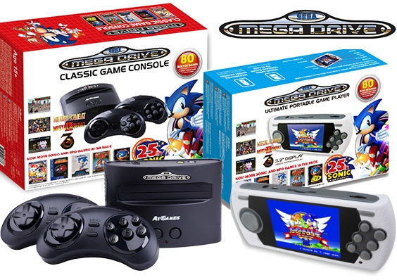 New - Sega mini-Mega Drive