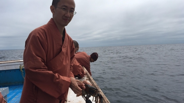 Monks Release 600lbs of Lobster Back into Ocean