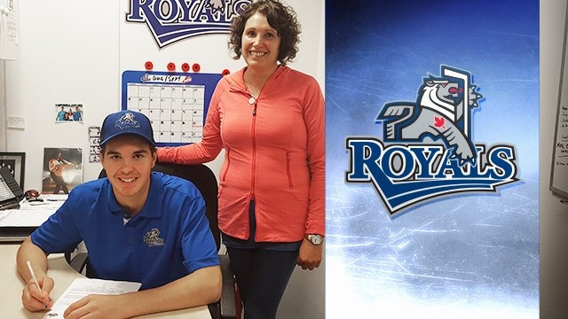 Royals Sign Netminder Dean McNabb