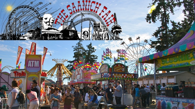 Win passes to our Private Midway Party at the Saanich Fair!