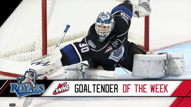 Outhouse WHL Goaltender of the Week