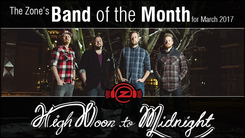 March's Band of the Month :: High Noon to Midnight