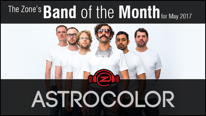 The Zone's Band of the Month is Astrocolor