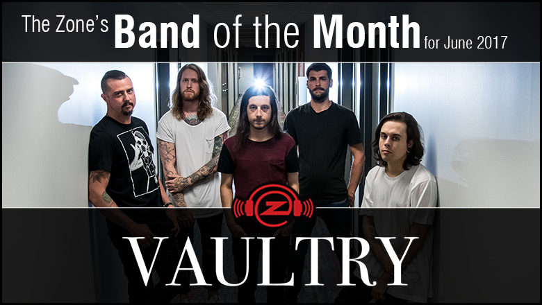The Zone's Band of the Month is Vaultry