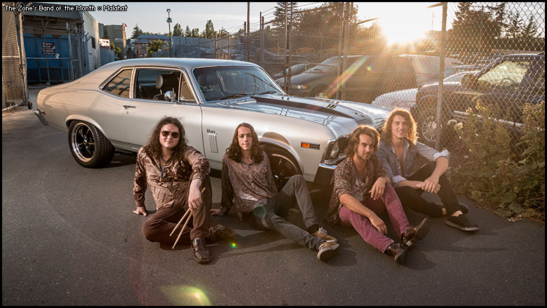 The Zone's Band of the Month is Malahat