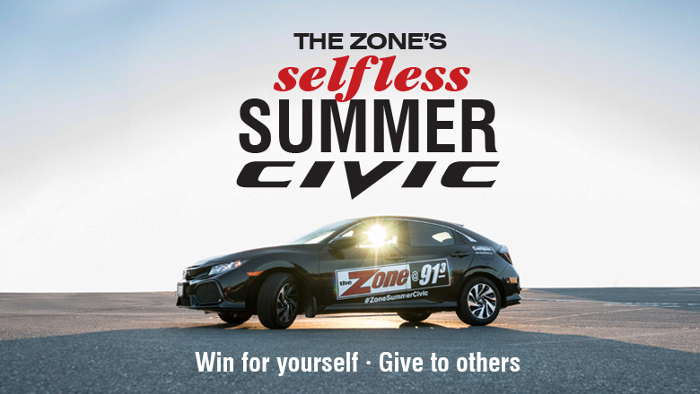 WIN The Zone's Selfless Summer Civic