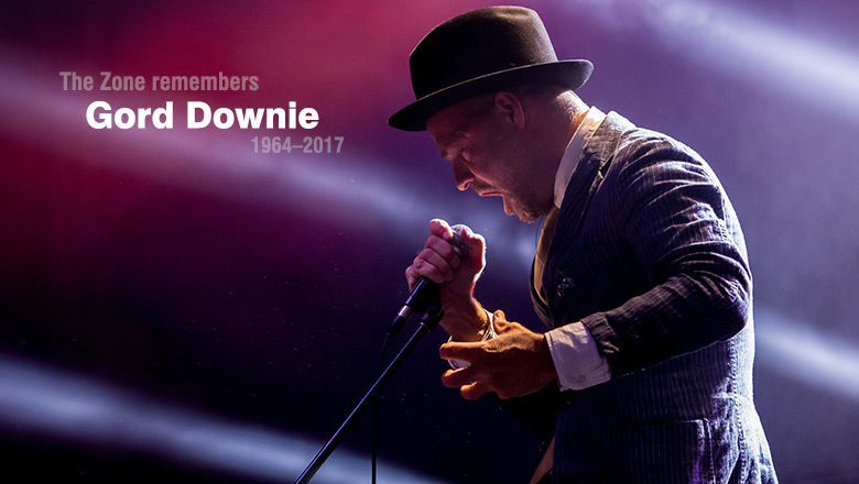 [LISTEN] The Zone's Mixtape :: Gord Downie Tribute Mix