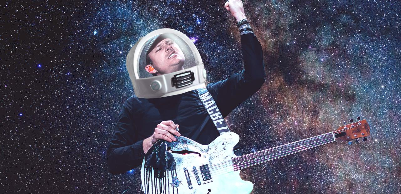 Tom Delonge is REALLY serious about going to Space