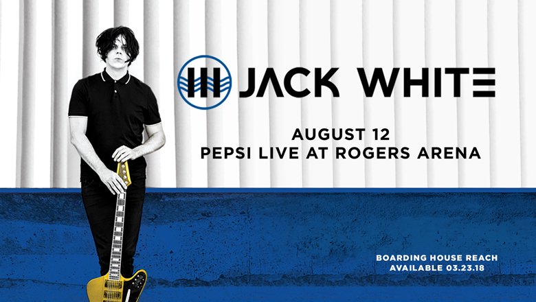 This week, win tickets to Jack White in Vancouver!