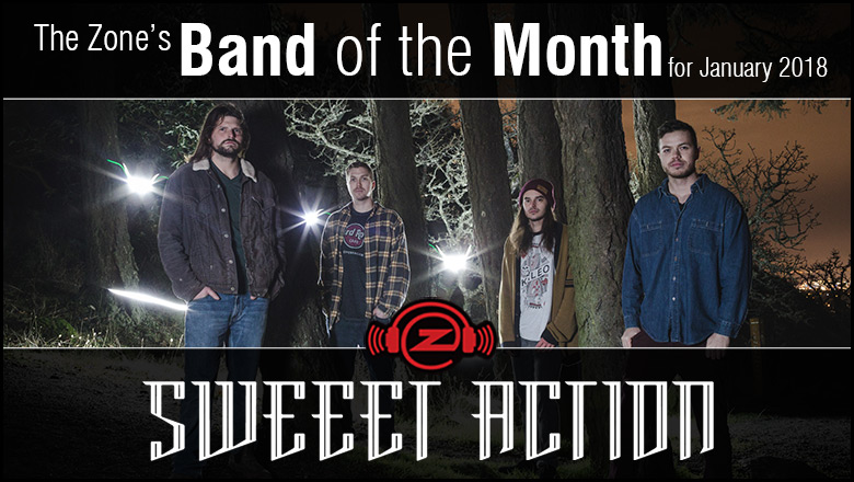 The Zone's Band of the Month is Sweeet Action