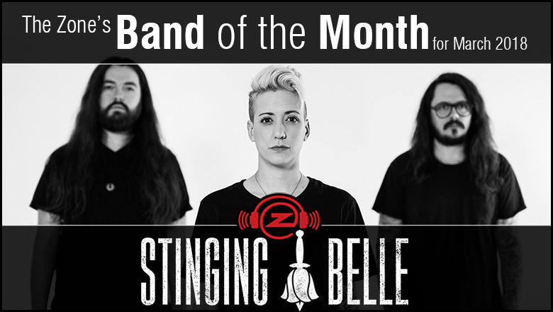 The Zone's Band of the Month is Stinging Belle