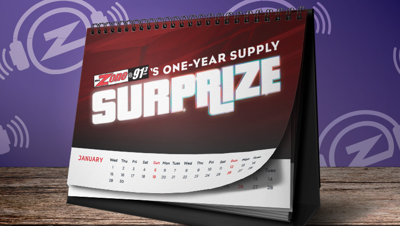 Win a One-Year Supply of...something!