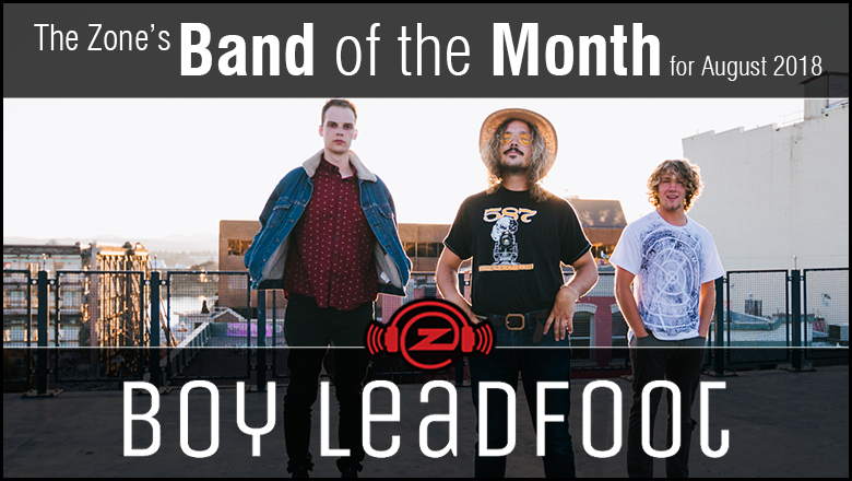 The Zone's Band of the Month is Boy Leadfoot