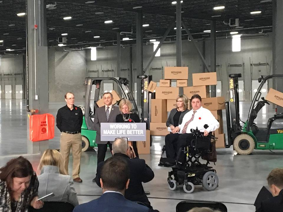 Amazon Warehouse to Open in Southern Alberta