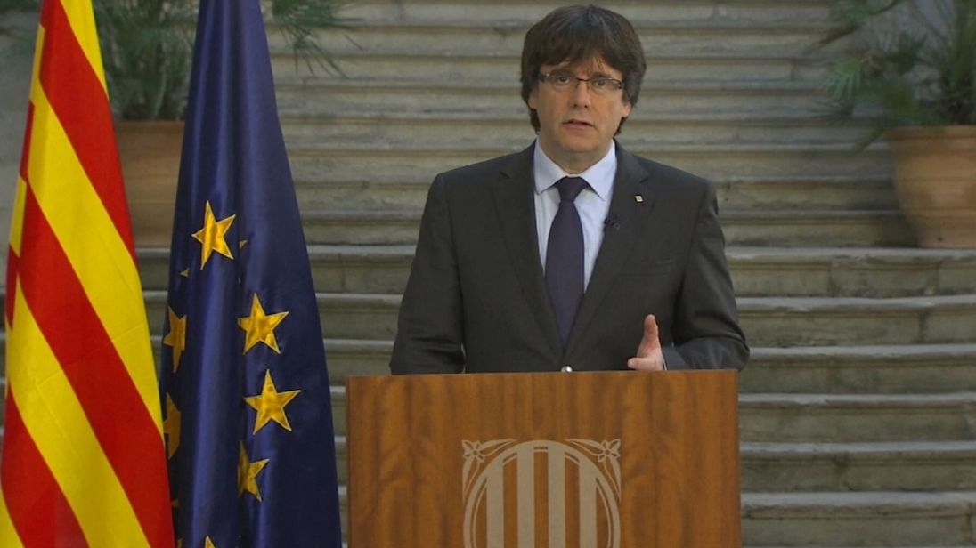 Ex-Catalonian president isn't seeking asylum in belgium.