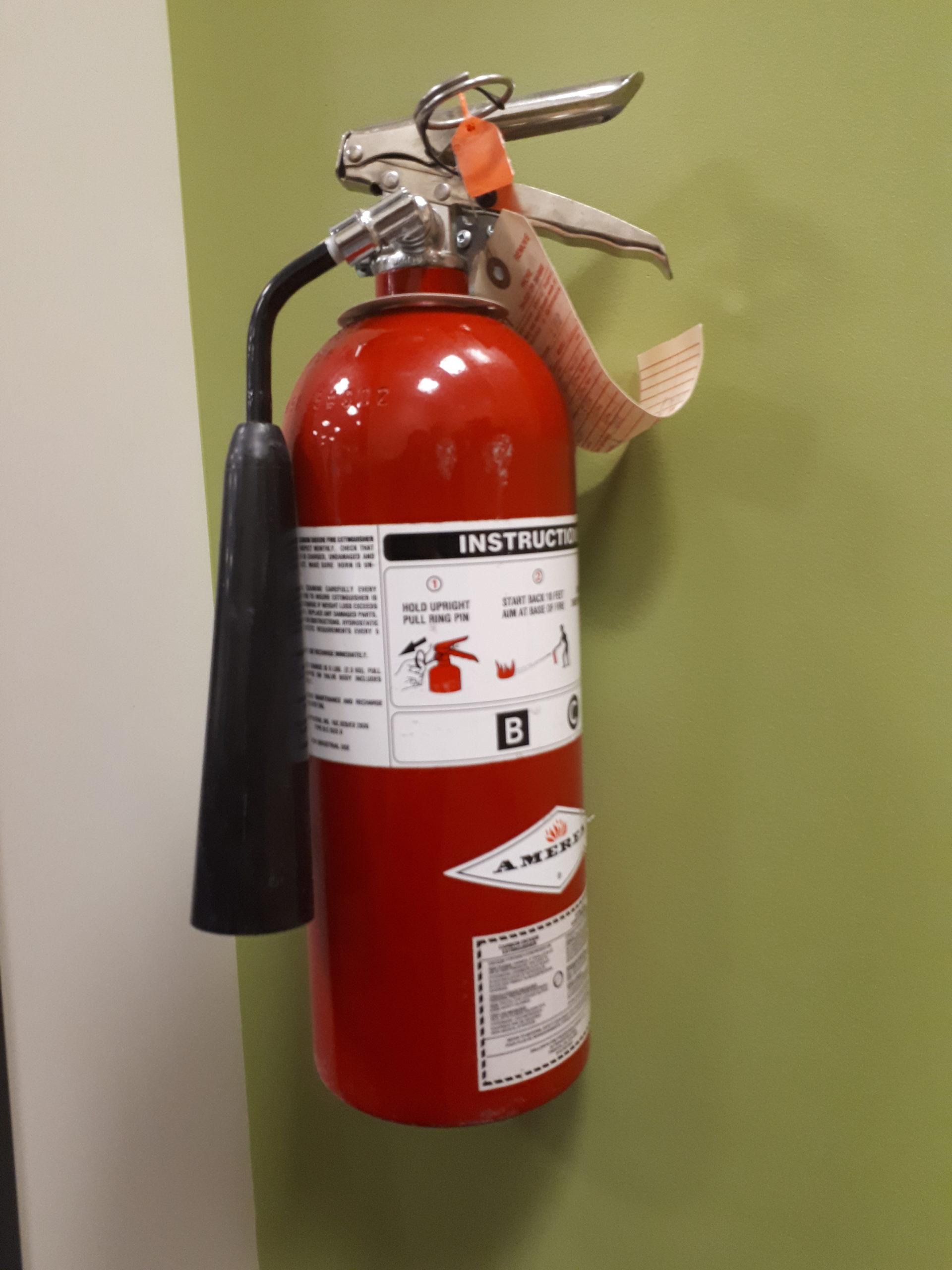 Fire Extinguishers Recalled