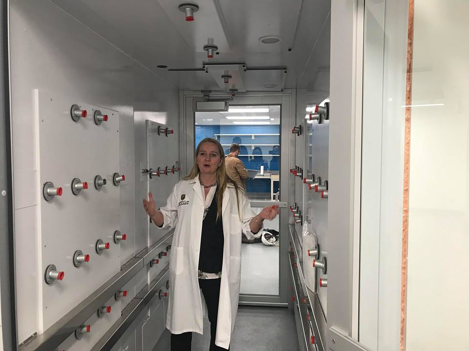 University of Calgary Opens Germ-free Lab