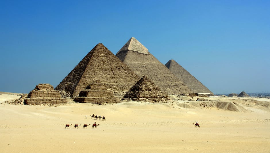 Void discovered in Great Pyramid of Giza