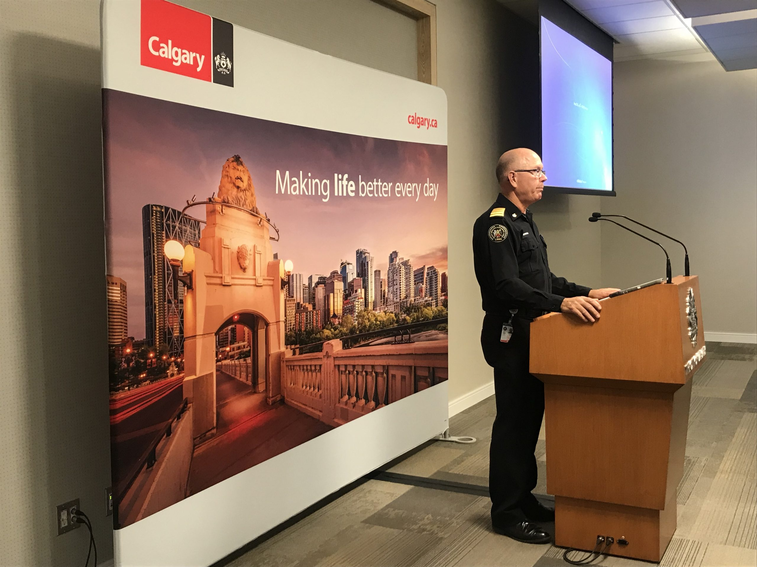 The City of Calgary to use mobiles devices to alert citizens of emergency situations.
