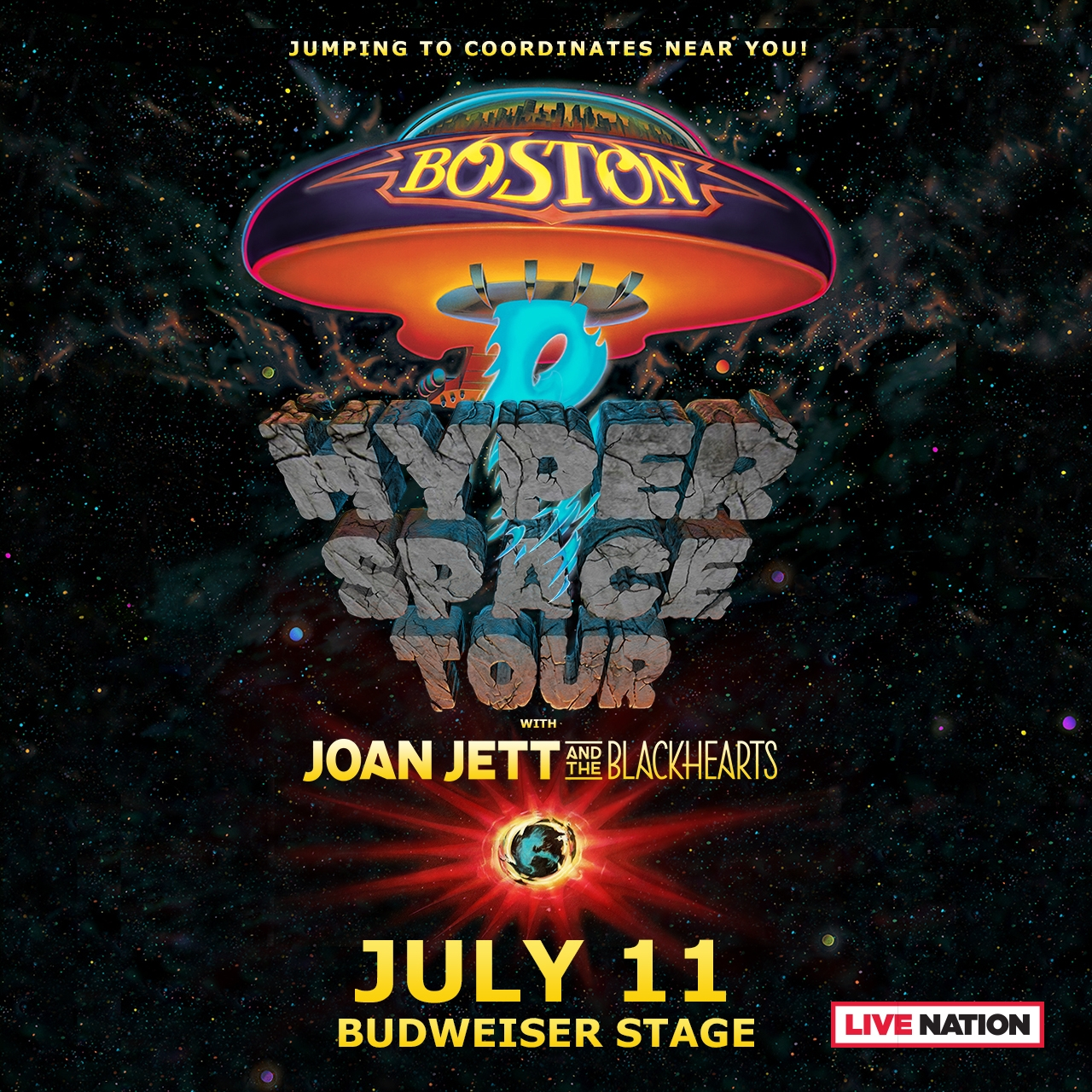 Boston with Joan Jett