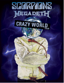SCORPIONS Crazy World Tour with Special Guest MEGADETH