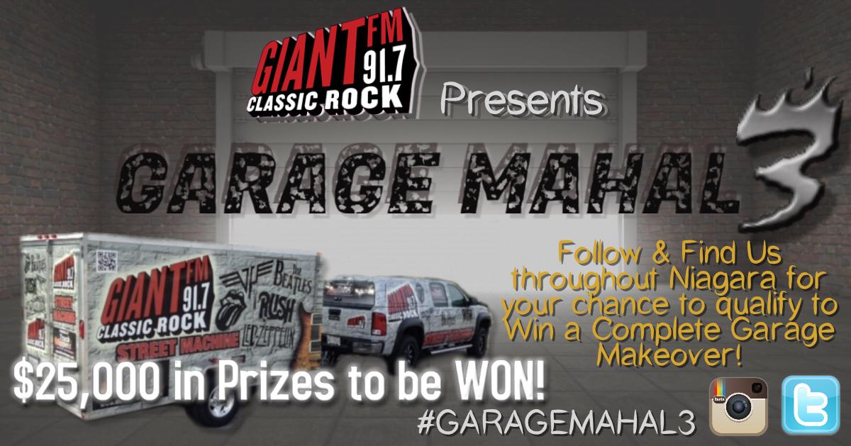 Garage Mahal III VIP Exclusive Contest Entry!