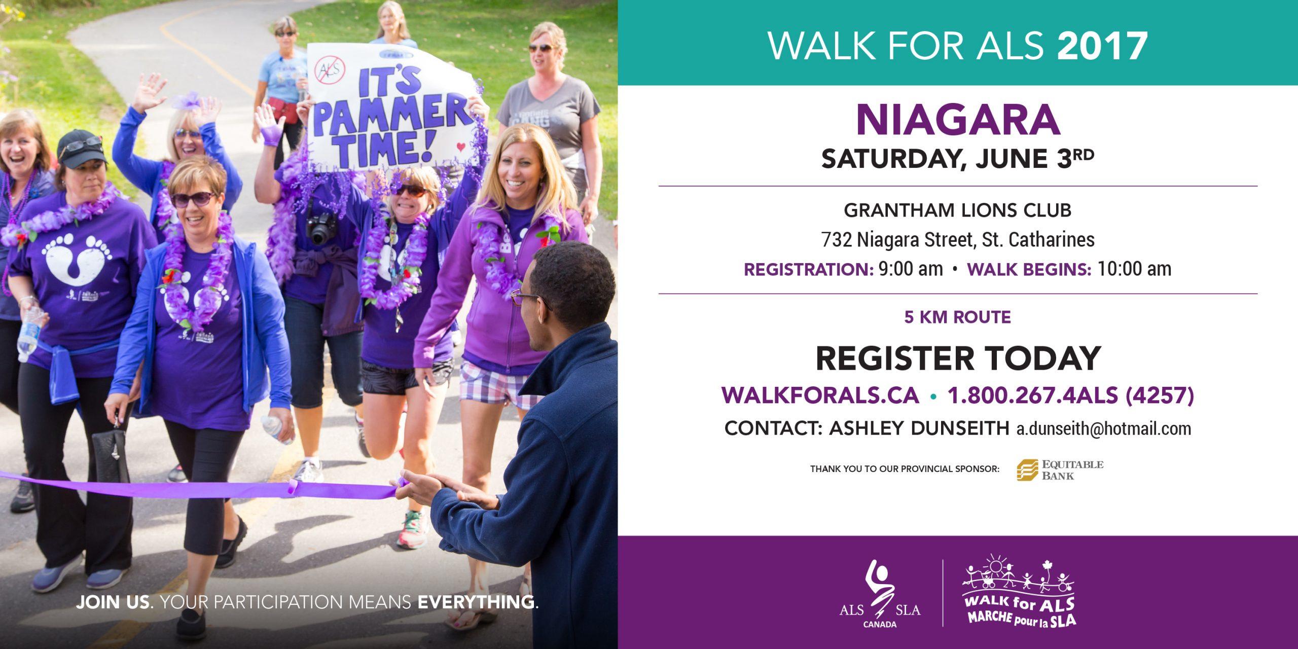 Walk for ALS