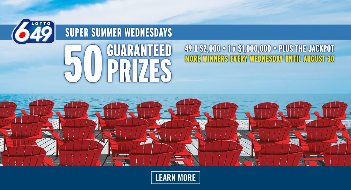 LOTTO 6/49 Super Summer Wednesdays