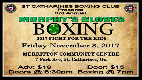 3rd Annual Murphy's Gloves Fight for the Kids