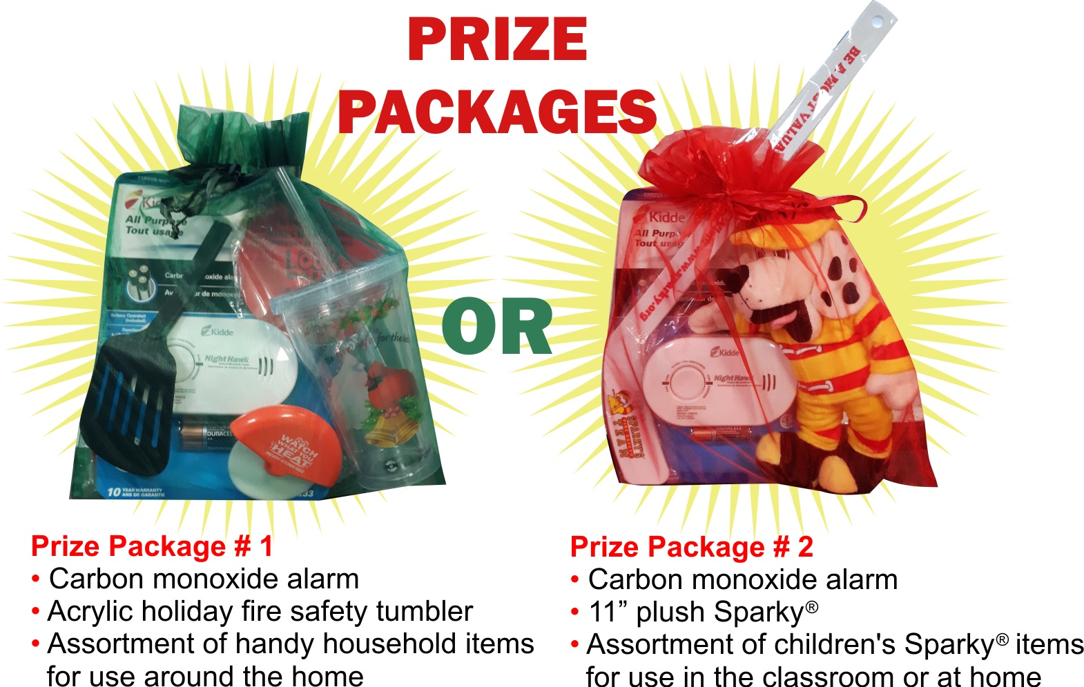 12 Days of Safety Giveaways!