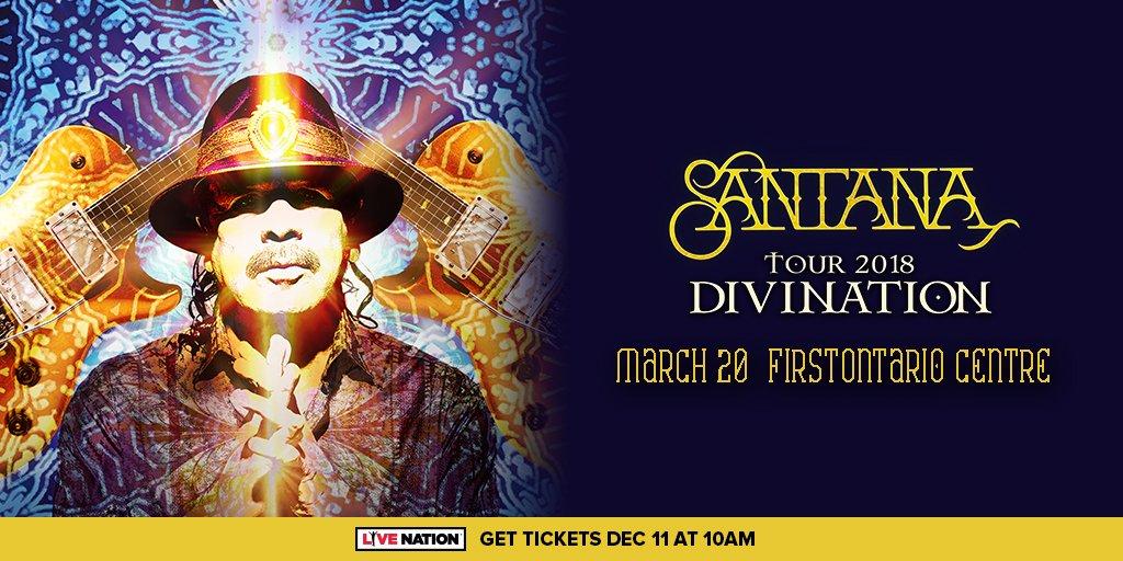 SANTANA - Divination Tour