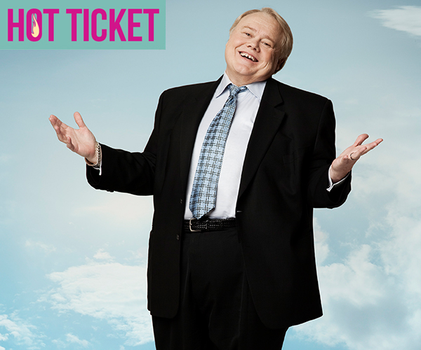 See the iconic comedian, LOUIE ANDERSON live!
