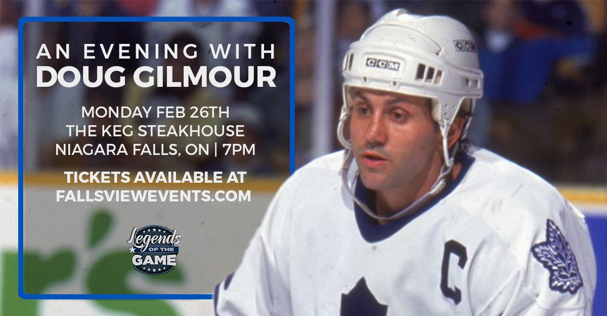 Win an Evening with Doug Gilmour!