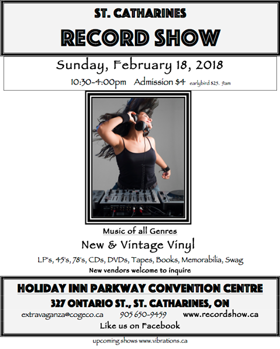 St. Catharines Record Show