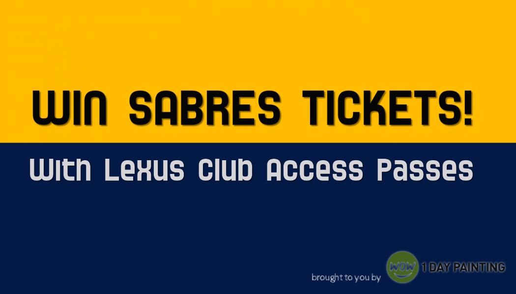 WIN Sabres Tickets