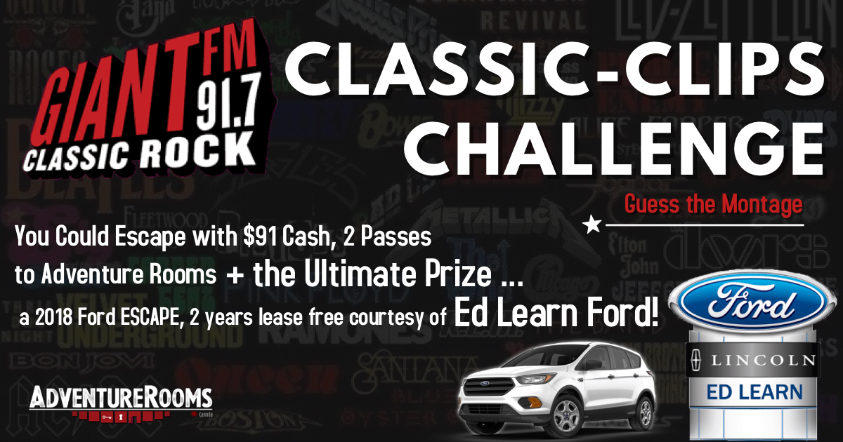 Feature: http://www.giantfm.com/classic-clips-challenge/