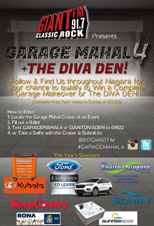 GARAGE MAHAL 4 & THE DIVA DEN