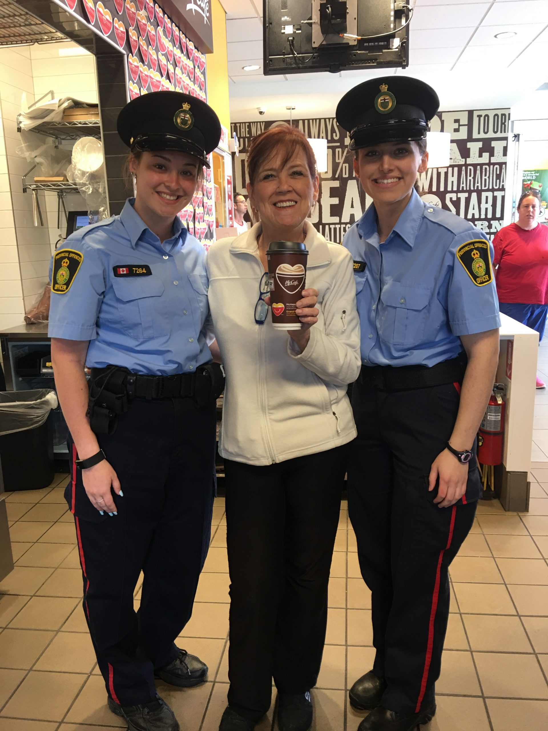 Having a Coffee on McHappy Day 2018