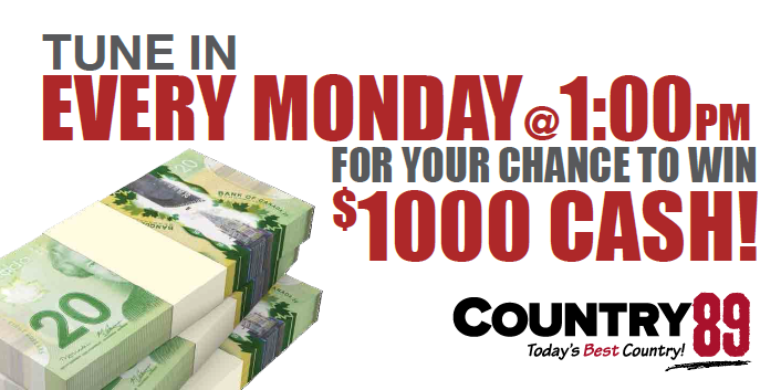 COUNTRY 89's CASH