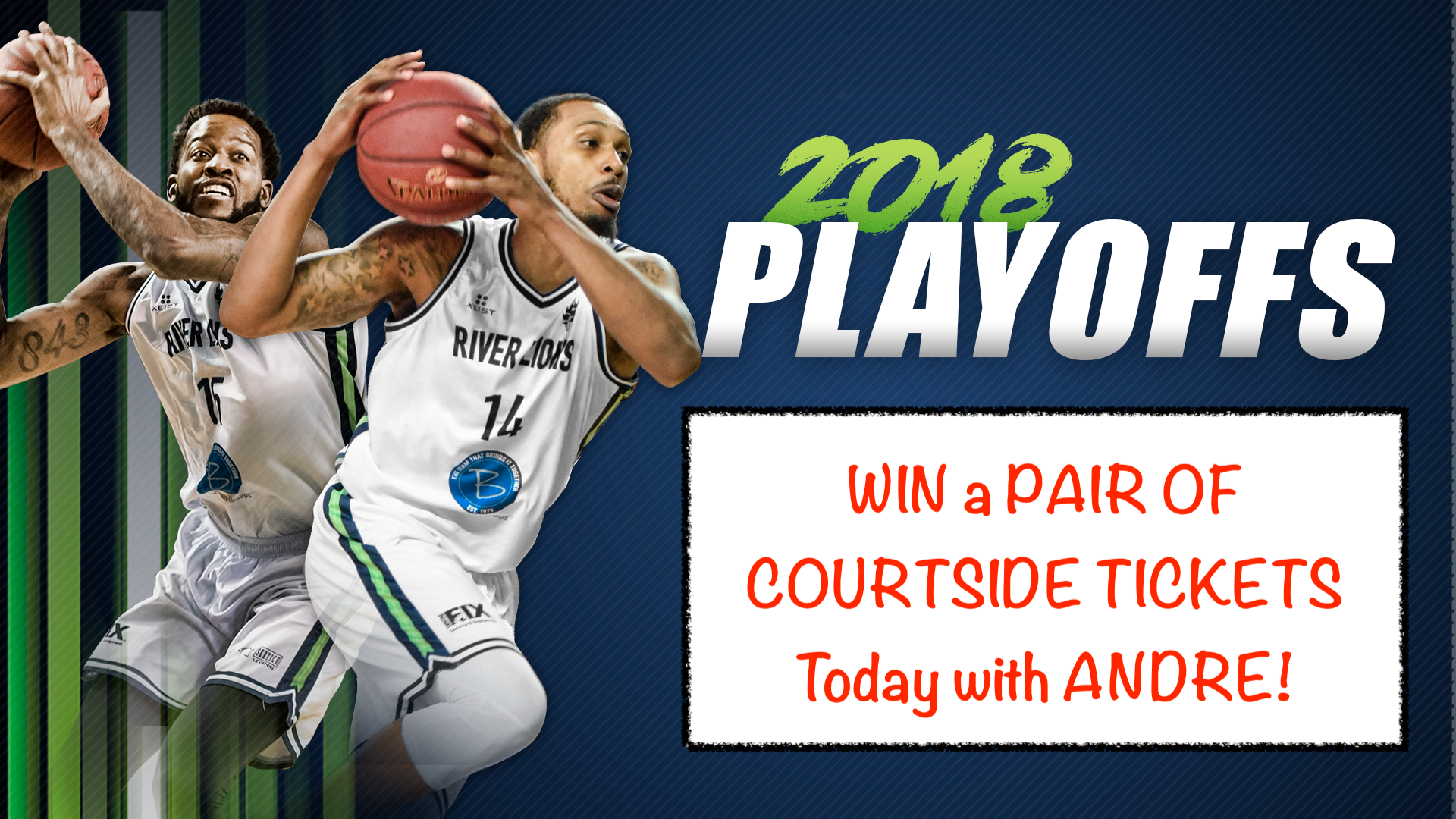Head to the Niagara Riverlions Playoff Game!