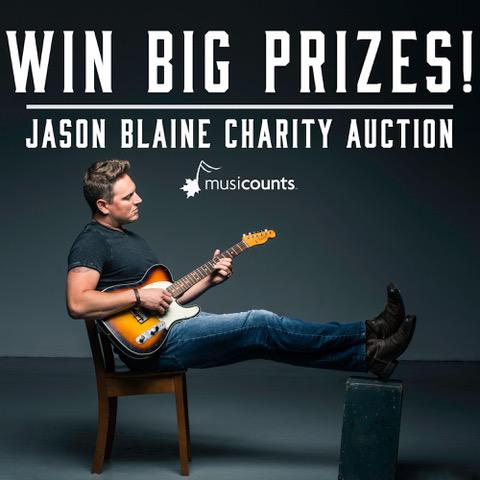 Jason Blaine Charity Auction!