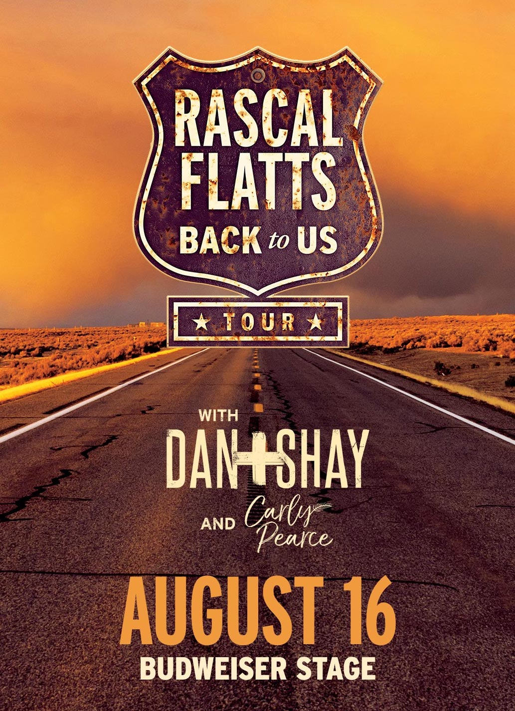 We're sending FIVE Lucky Listeners to see Rascal Flatts live in concert!