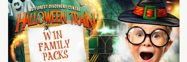 BC Forest Discovery Centre – Halloween Train